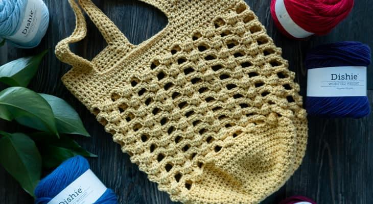 Bobbles for Baubles Crochet Bag