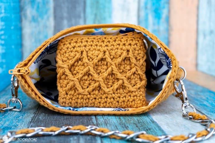 free coin purse crochet pattern