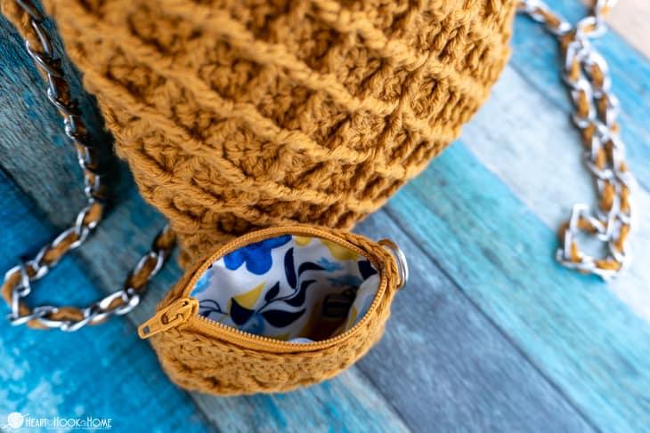 diamond purse crochet pattern