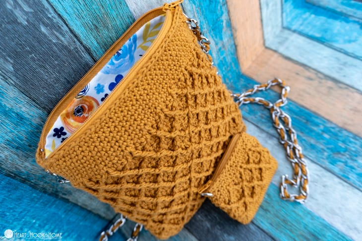 free purse crochet pattern