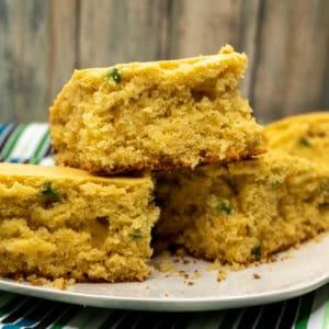 Honey Jalapeño Cornbread recipe