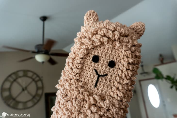 dusting mitt crochet pattern