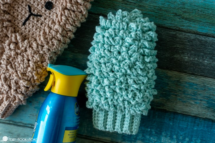 dusting mitt crochet pattern