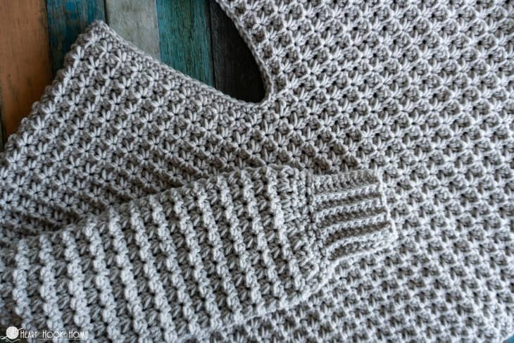 gorgeous, easy crochet sweater