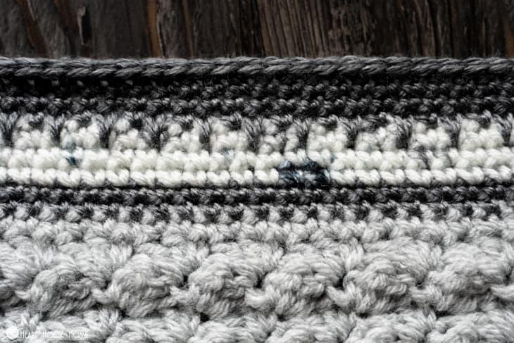 easy crochet border