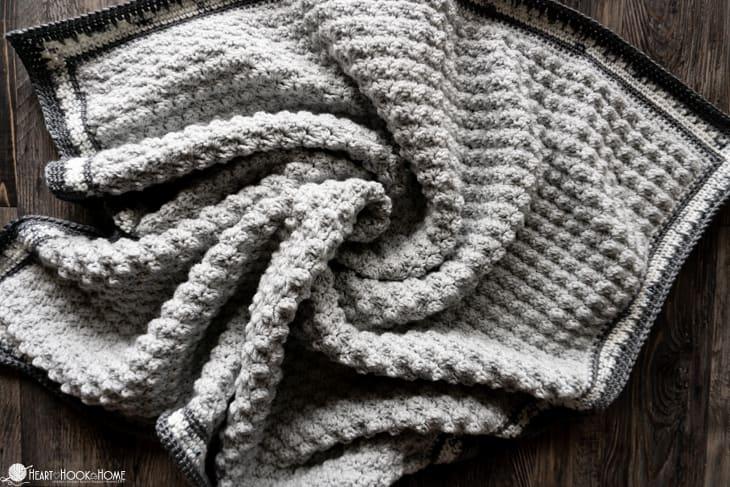 quick baby blanket crochet pattern