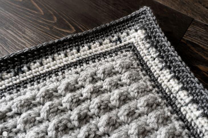 beginner friendly baby blanket