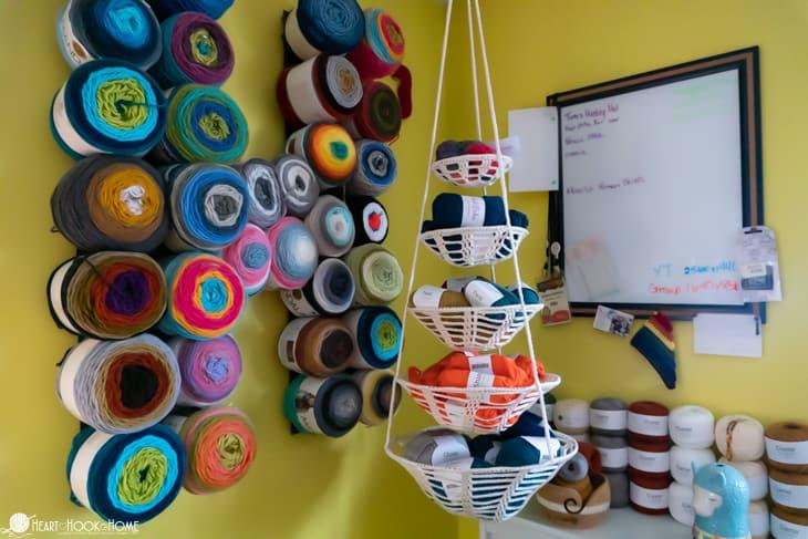 hanging baskets crochet patterns