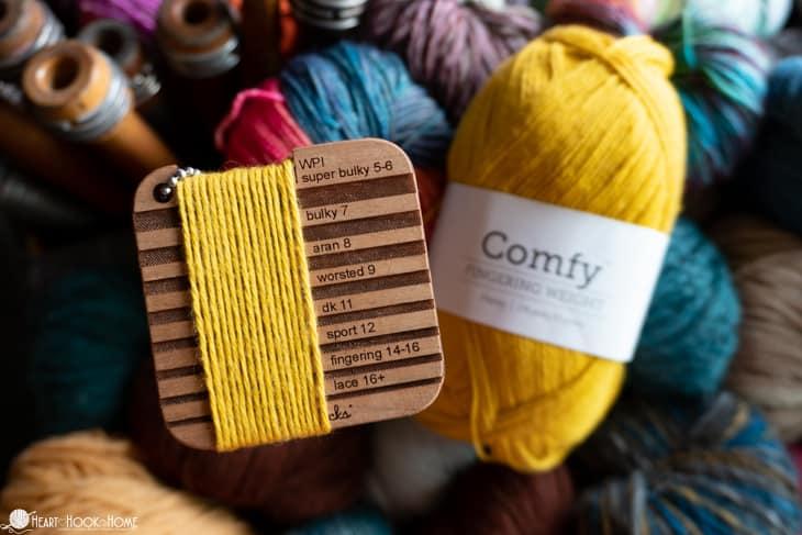 determine yarn weight