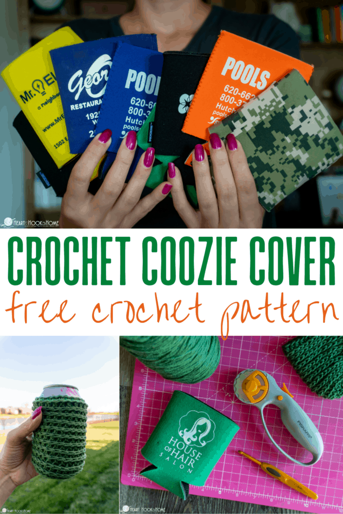 Crochet Coozie Cover