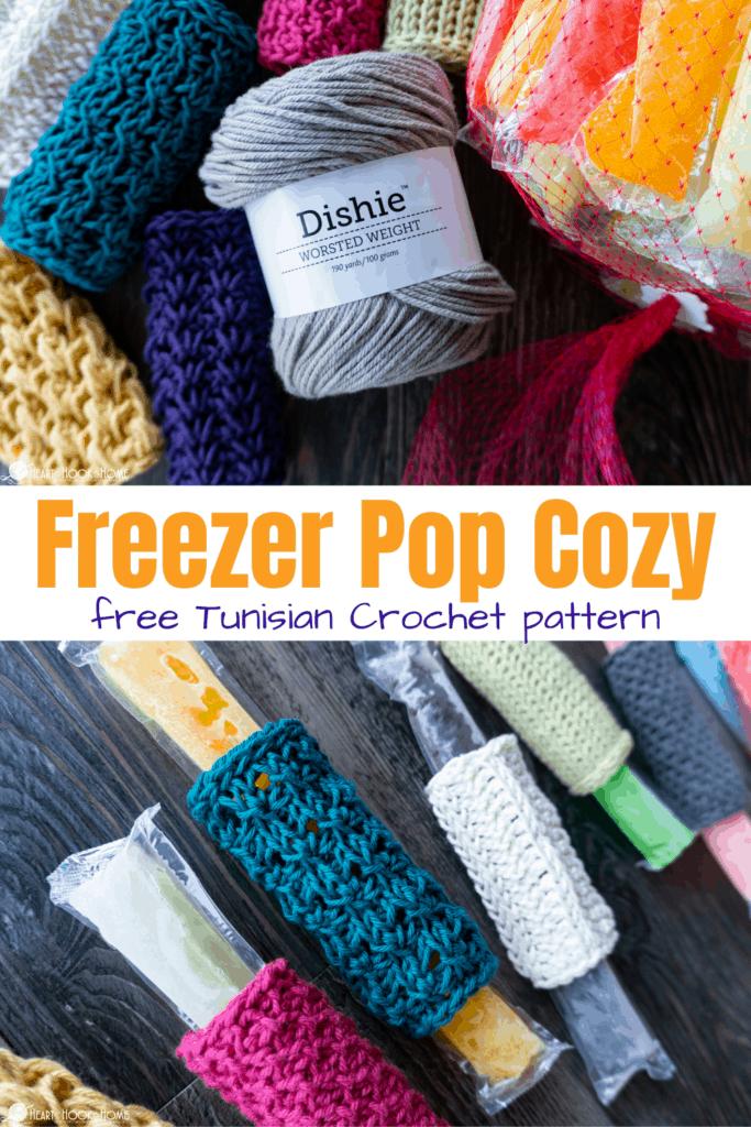 Freezer Pop Crochet Cozy patterns