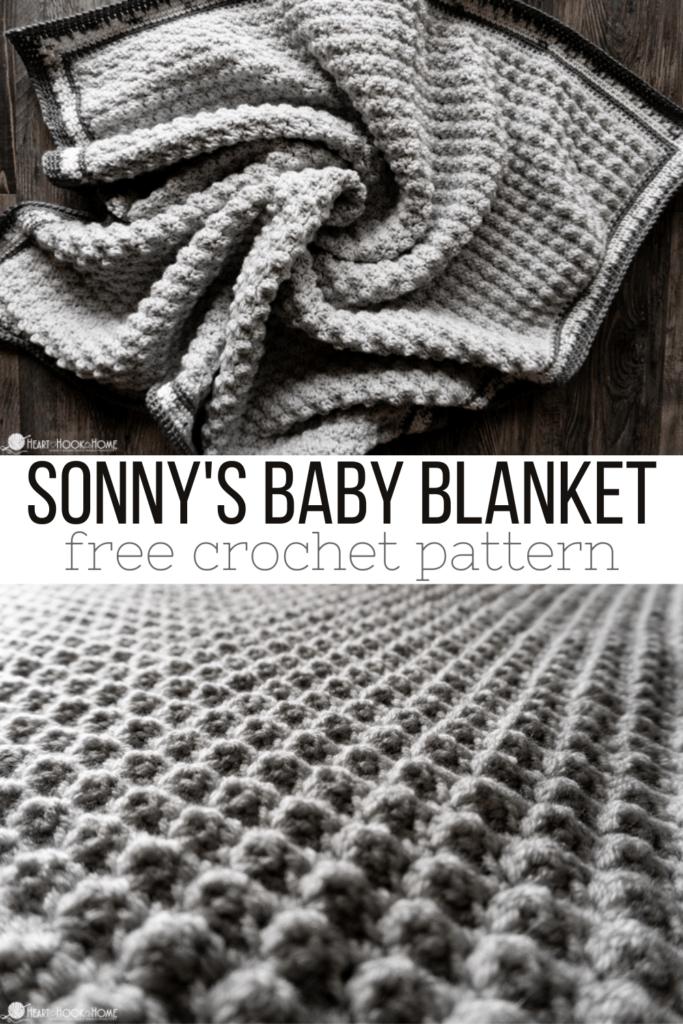 sonny's baby blanket free crochet pattern
