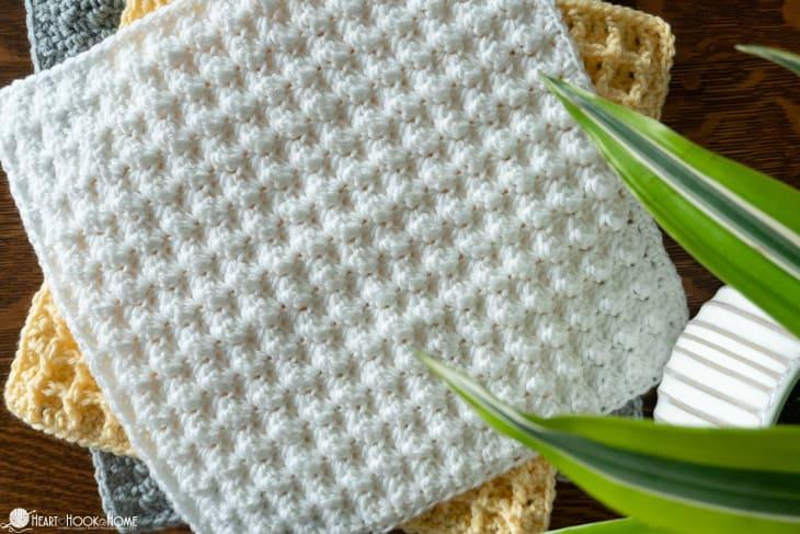 Blanket Stitch crochet tutorial