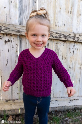 free kids sweater crochet pattern