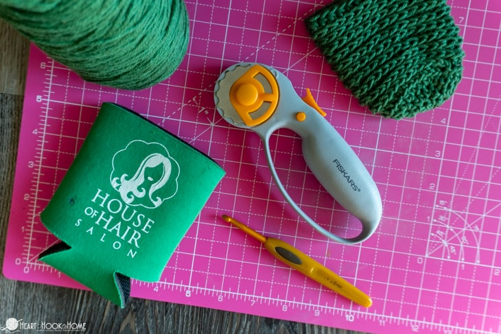 crochet coozie cover pattern