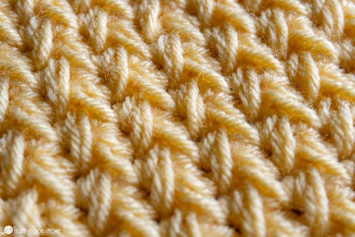 feather crochet stitch