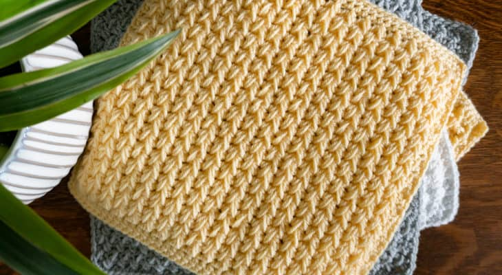 Feather Stitch Crochet Tutorial