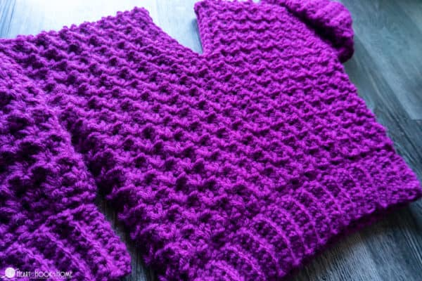 kids crochet sweater free pattern