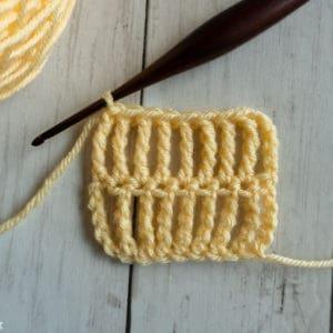 Triple Treble Crochet Stitch Tutorial
