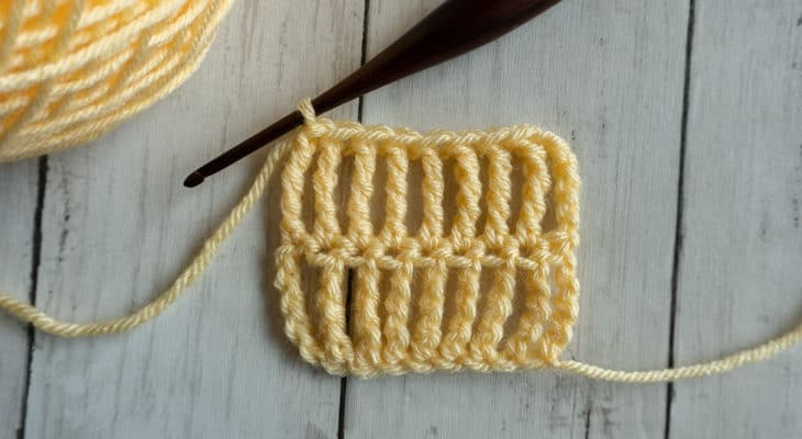 Triple Treble Crochet Stitch Tutorial