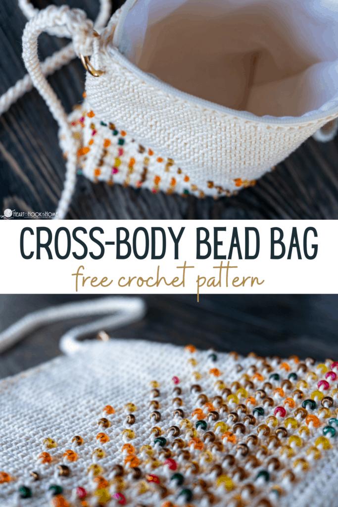 Cross Body Bead Bag free pattern