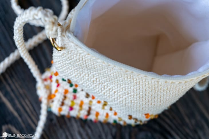 crocheting with beads tutorial