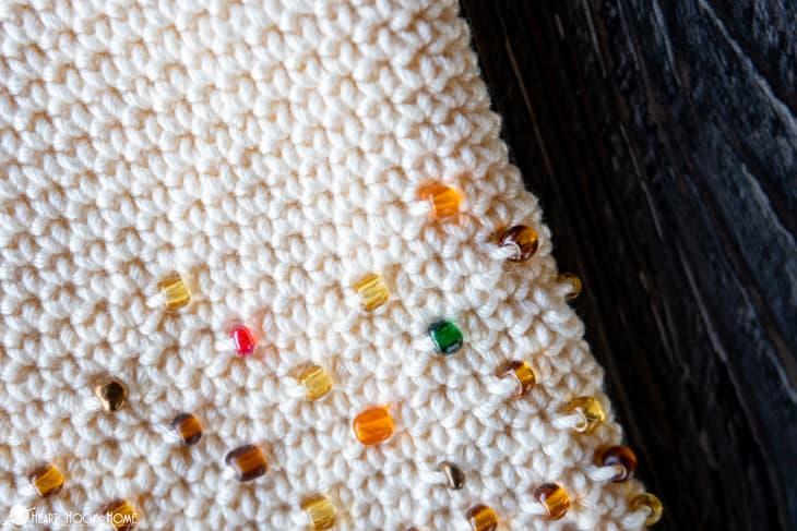 3 ways to add beads to crochet