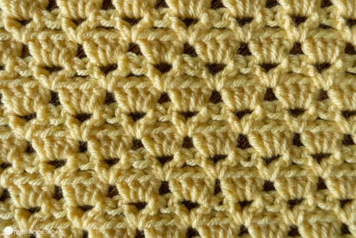 sultan crochet stitch