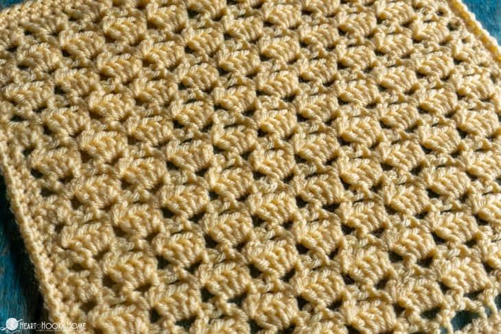 Crochet Sultan Stitch tutorial