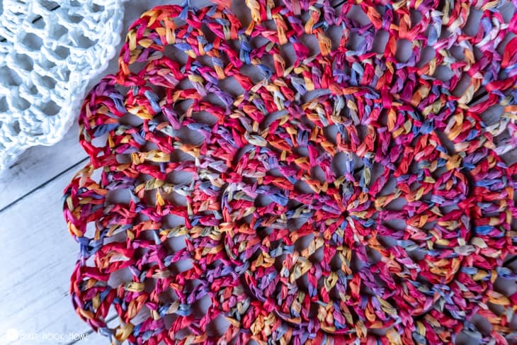 outdoor table mat crochet pattern