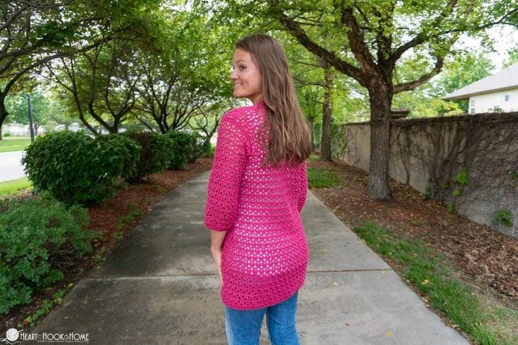 lightweight summer cardigan crochet pattern