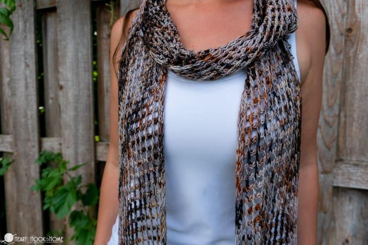 Seattle Scarf crochet pattern