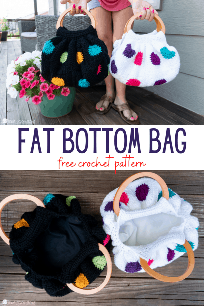 Granny Square Fat Bottom Bag pattern