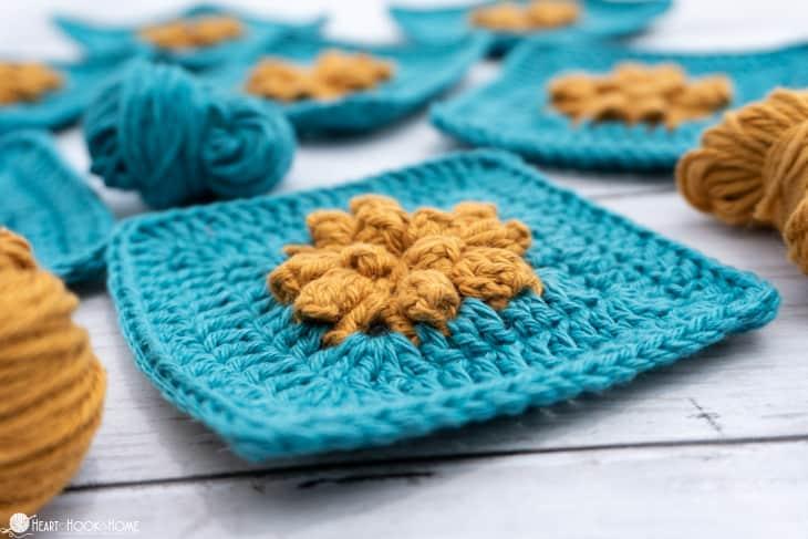 solid granny square crochet pattern