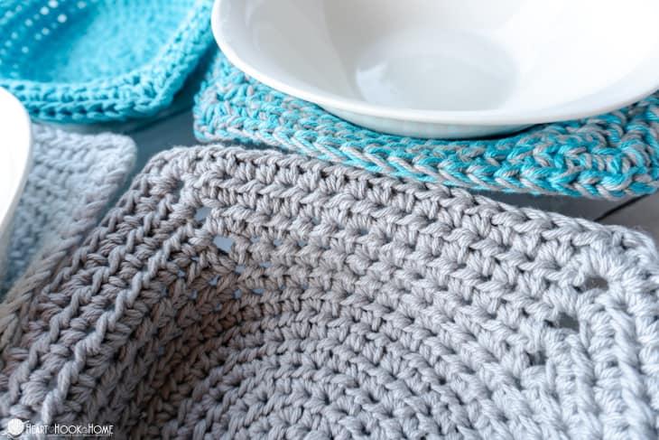 comment crocheter un bol micro-ondes cosy