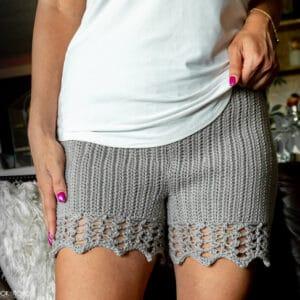 Staycation Shorts Crochet pattern