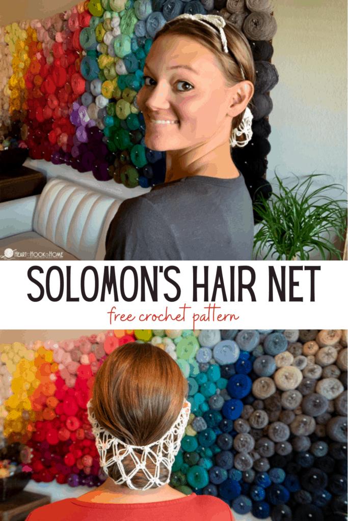 crochet hair net free pattern