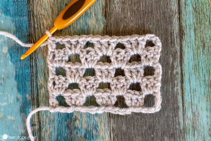 granny stitch not square