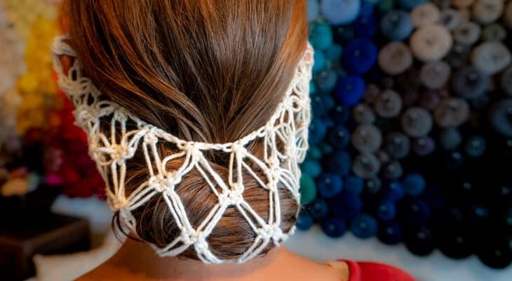 How to crochet a hair net