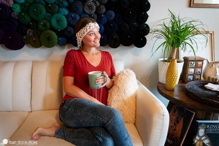 Hair Net free crochet pattern