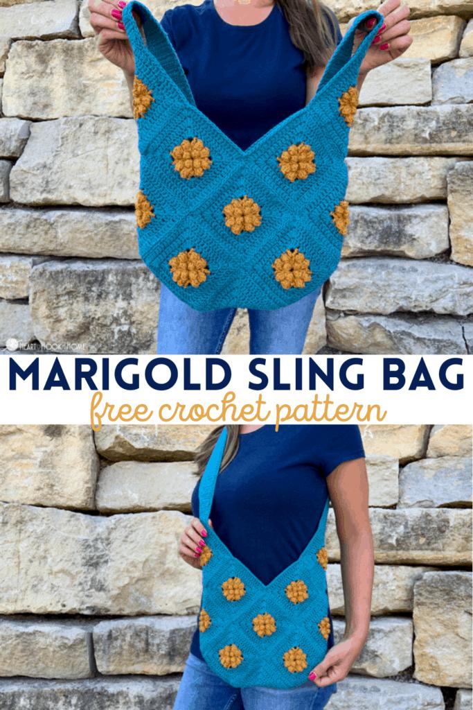 Marigold Sling Bag Free Crochet Pattern