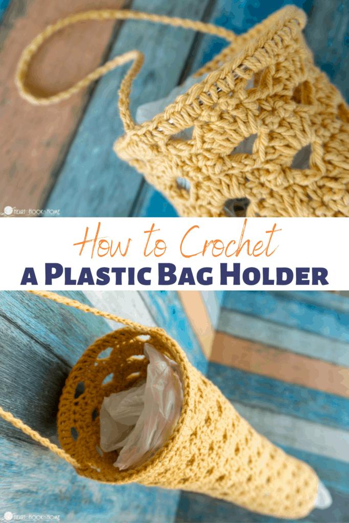Plastic Bag Holder Crochet pattern