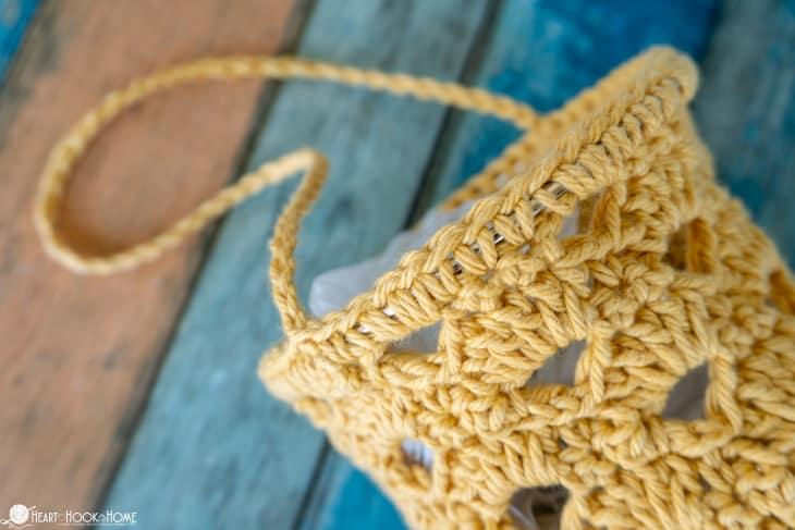 grocery plastic bag dispenser crochet pattern