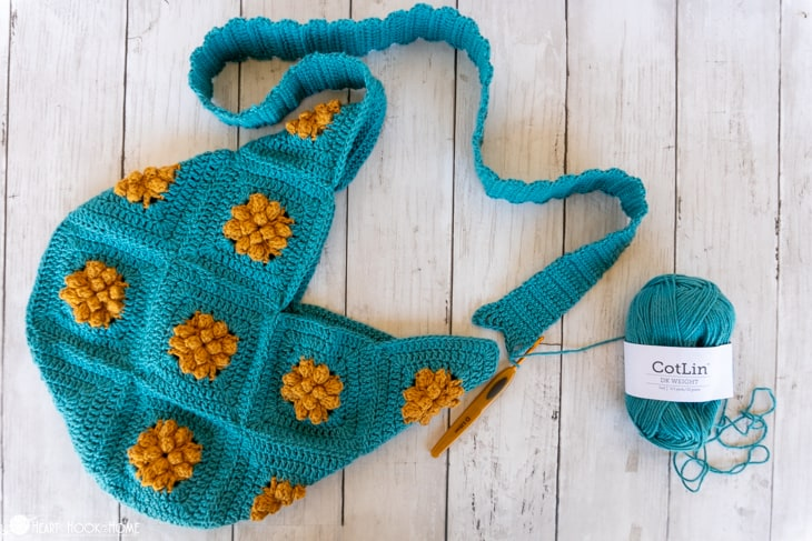 Marigold Sling Bag crochet pattern