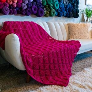 Triangle Crochet Blanket